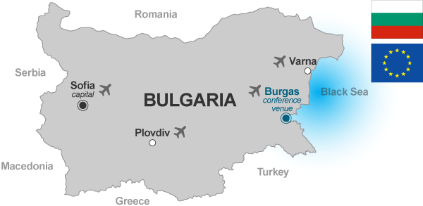 map of bulgaria bulgaria officially the republic of bulgaria is a country in southeastern europe and one of the newest members of the european union